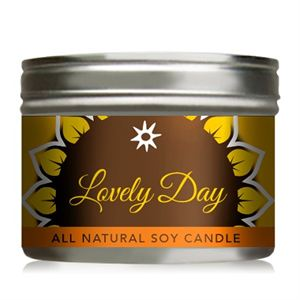 Picture of Lovely Day Soy Candle - 10 oz